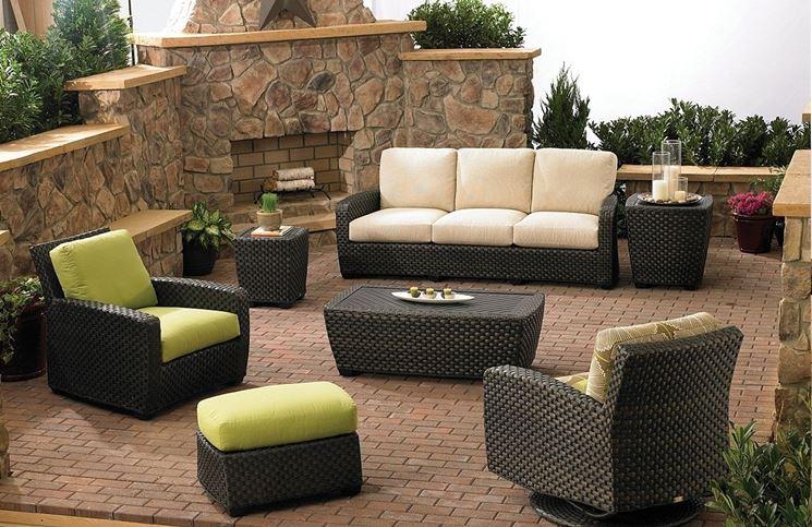 Mobili per esterno accessori da esterno arredare l for Mobili per giardino