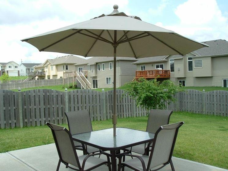 ombrellone da esterno giardino