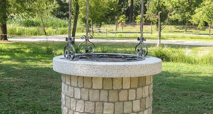 Fontanella Da Giardino In Mattoni : Ferro zinc pozzi ornamentali da giardino querciacb