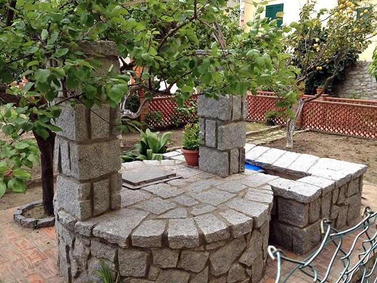 Pozzo da giardino accessori da esterno caratteristiche for Pozzi finti per giardino