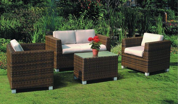 Salotti da esterno accessori da esterno salotti per for Offerte divanetti da giardino
