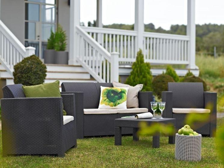 mobili da giardino moderni ~ ispirazione di design interni - Mobili Da Giardino In Plastica Moderno