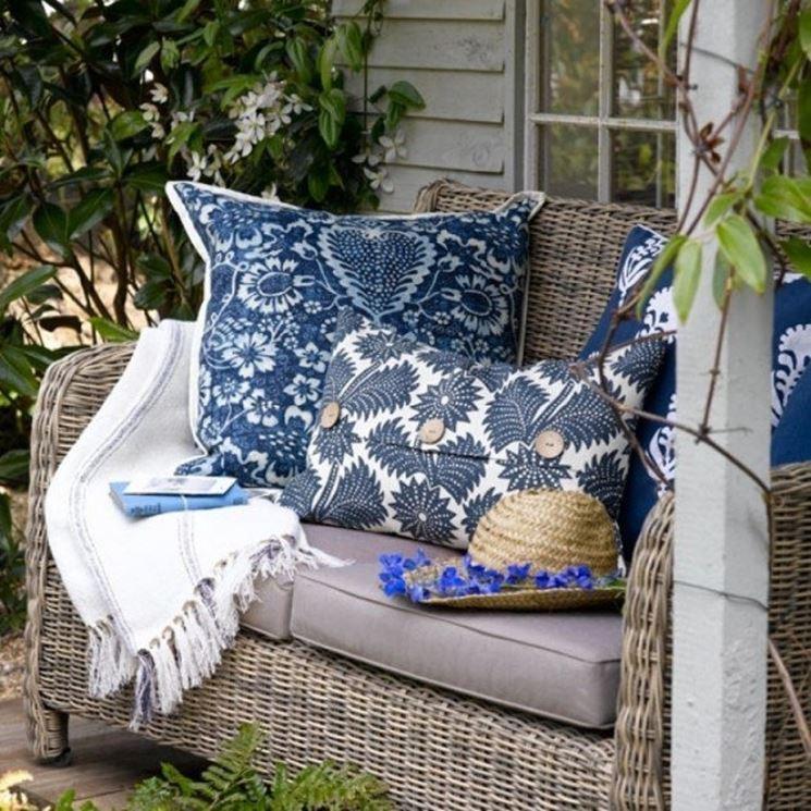 Cuscini per giardino