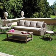 Set giardino divano