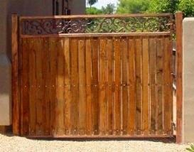 cancelli in legno giardino bricolage : Cancelli in legno - Cancelli