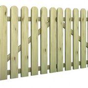 cancello di legno