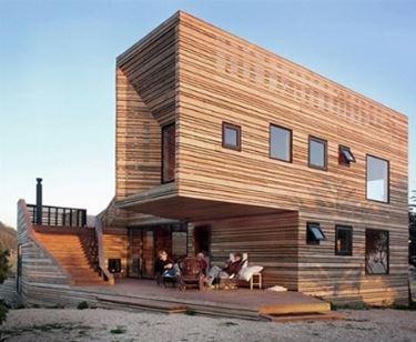 Casa in legno a Roma