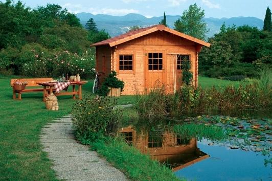 Case in legno prefabbricate casette da giardino for Le case prefabbricate