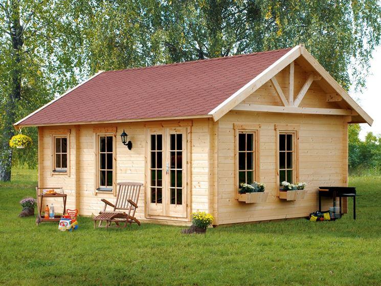 Casa in legno usata