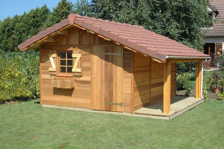 Case in legno usate - Casette da giardino
