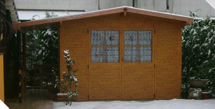 Casetta con doppia porta