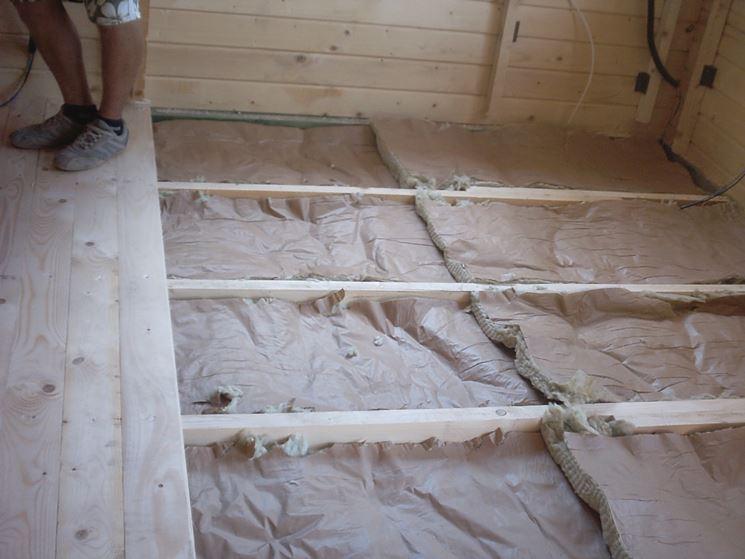 Montaggio del pavimento