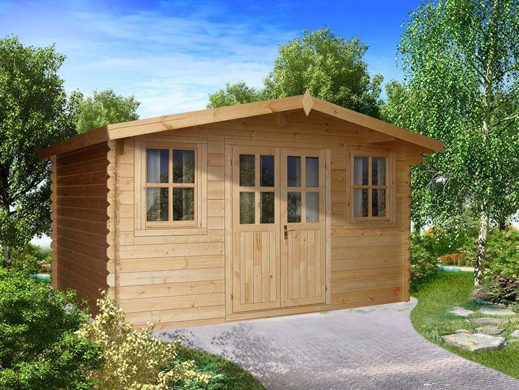 Struttura base casetta in legno