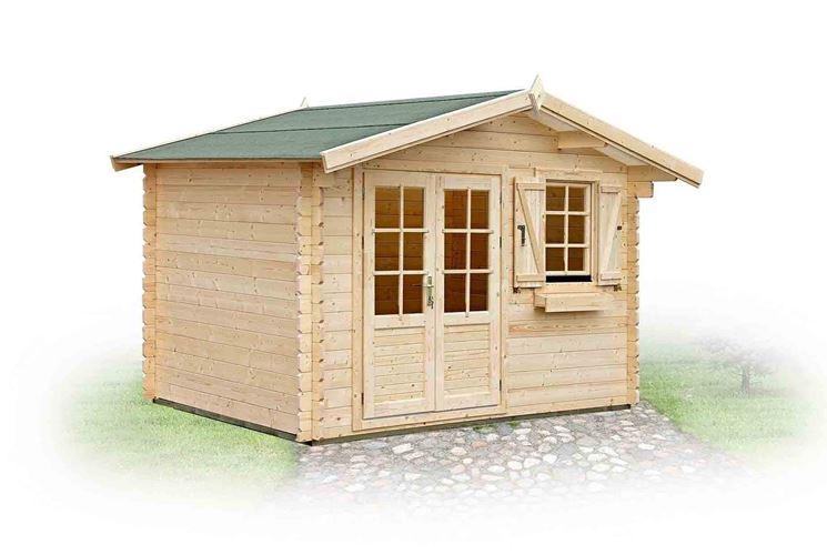 Esempio casetta in legno