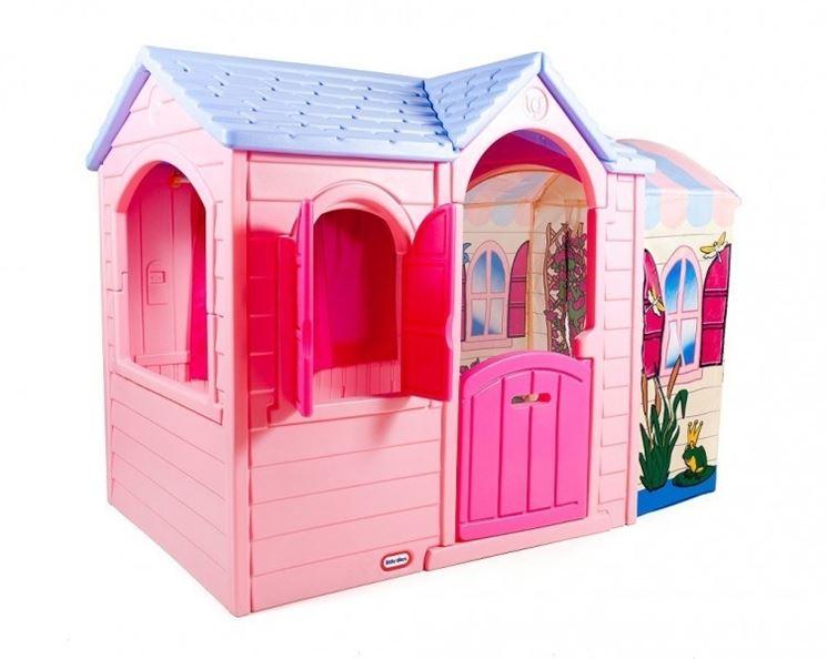 Casette in plastica per bambini casette da giardino for Casette usate per bambini
