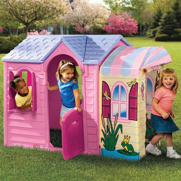 Casette per bambini da giardino casette da giardino for Piani di hot house