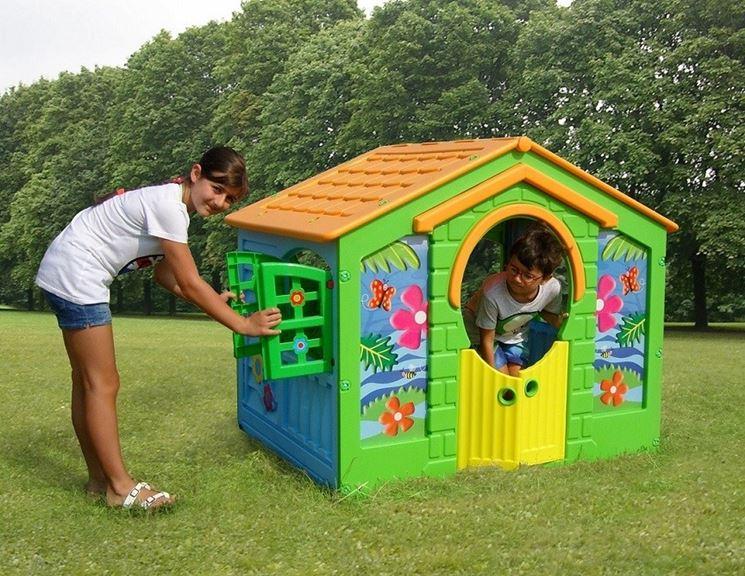 Casetta Giardino Offerta : Casette per bambini in plastica da giardino