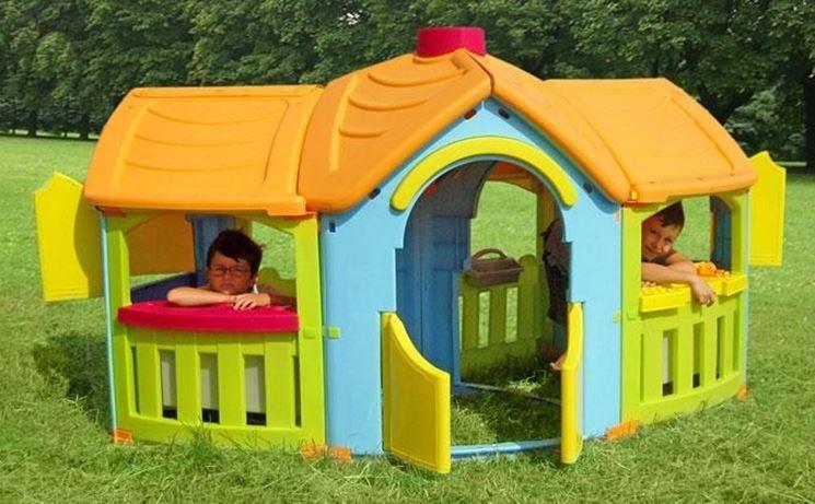 Casette per bambini in plastica - Casette da giardino ...