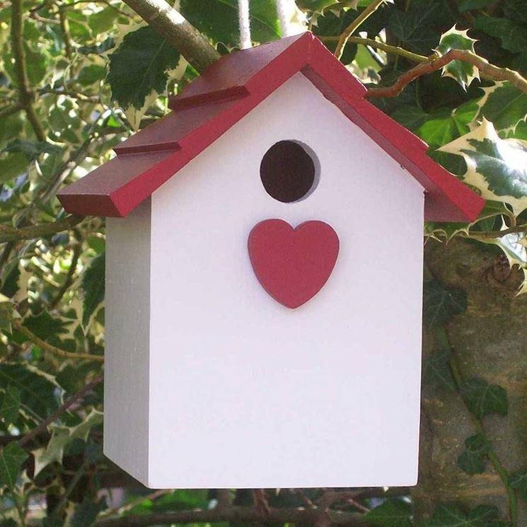 Favori Casette per uccelli fai da te - Casette da giardino - casette  ZW37