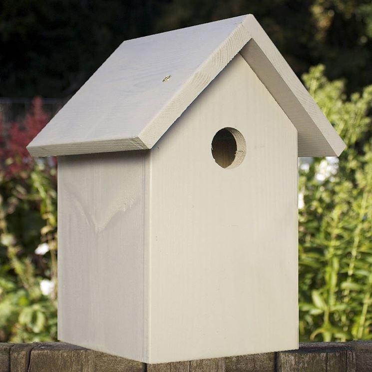 Una classica casetta con tetto spiovente