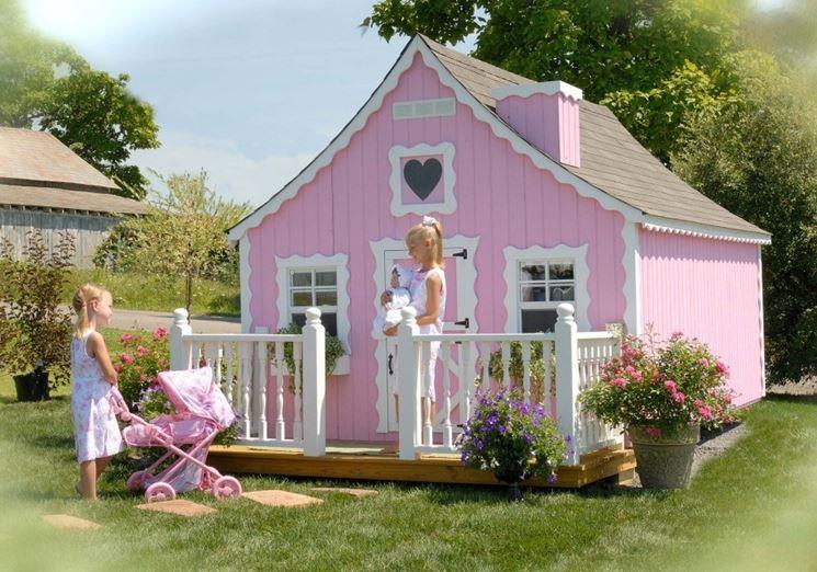 Casette giardino per bambini casette da giardino for Moderni piani di palafitte