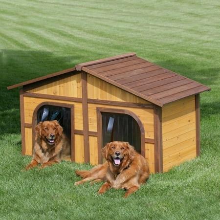 Cucce in legno casette da giardino for Cucce per cani in offerta
