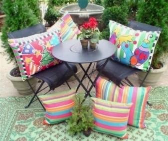 cuscini da giardino complementi arredo giardino