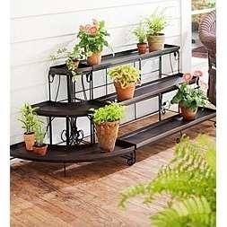 Portavasi complementi arredo giardino - Porta fioriere da balcone ...
