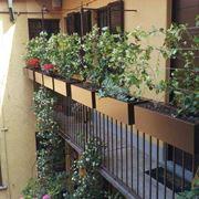 Portavasi complementi arredo giardino for Portavasi balcone