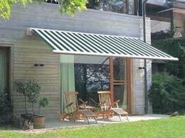 Conservazione delle tende da giardino