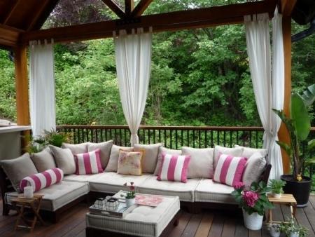 Tende di arredamento complementi arredo giardino for Patio arredamenti