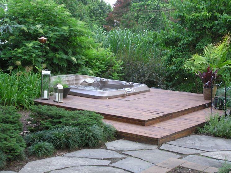 Vasche idromassaggio da esterno complementi arredo giardino - Giare da giardino ...