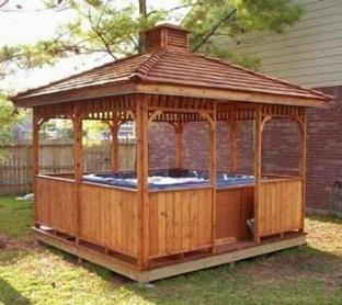 Chioschi in legno gazebo - Casina in legno giardino ...