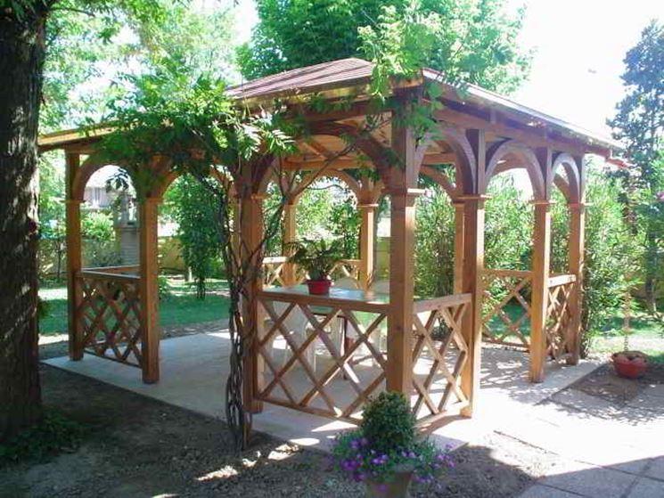 Gazebo In Legno Da Giardino Gazebo  Garden