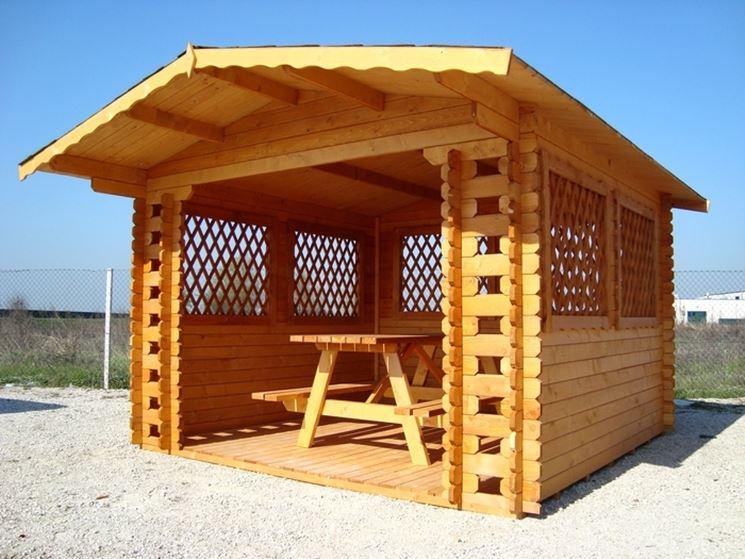 Come costruire un gazebo in legno gazebo gazebo in legno for Costruire un altalena in legno