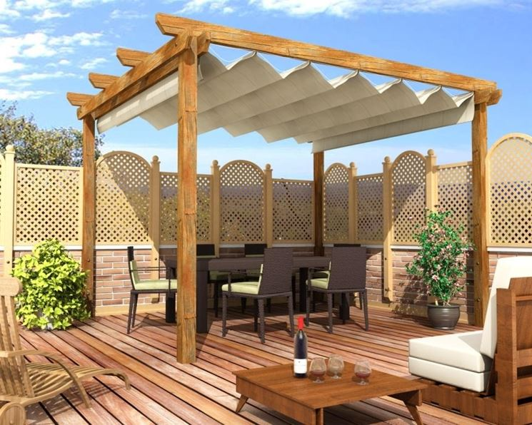 Awesome Gazebo Da Terrazza Images - Design Trends 2017 - shopmakers.us