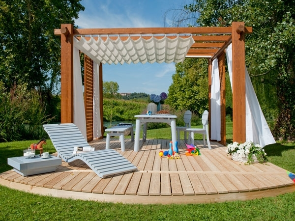 gazebo da giardino in legno gazebo migliori gazebo in. Black Bedroom Furniture Sets. Home Design Ideas