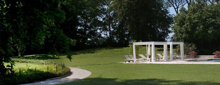 Gazebo giardino gazebo gazeboo per giardino - Giardini con piscina foto ...