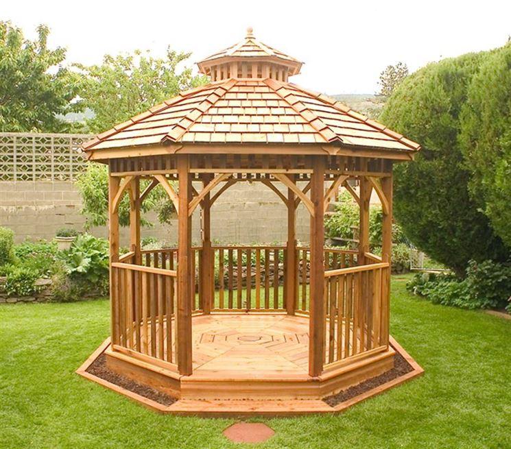 Gazebo in legno da giardino - Gazebo - Gazebi per giardino in legno