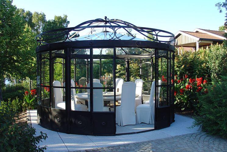 Gazebo per esterno gazebo gazebi per spazi esterni - Gazebo da giardino in ferro ...