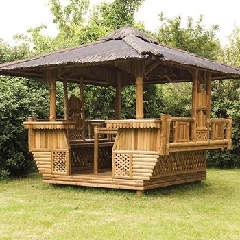 Gazebo per giardino gazebo for Pavilion style home designs