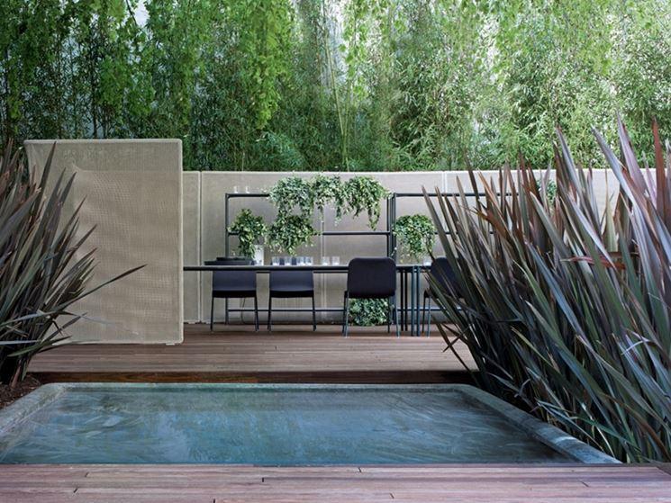 Divisori per giardini grigliati e frangivento divisori - Pannelli divisori giardino ...