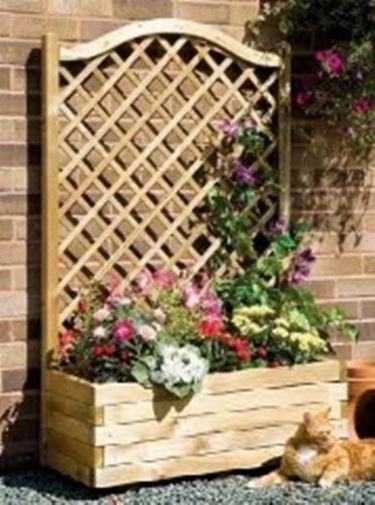 Grigliati in legno da giardino grigliati e frangivento for Divisori da giardino