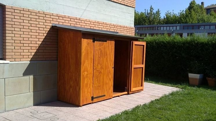 Armadi per esterno mobili giardino caratteristiche for Mobili legno per esterni