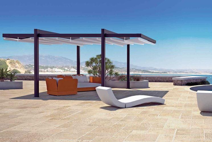 Arredamento moderno mobili giardino come arredare il for Arredo giardino moderno