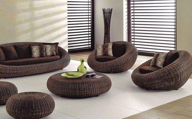 Lo stile etnico e lo stile zen sono perfetti per ottenere un ambiente rilassante