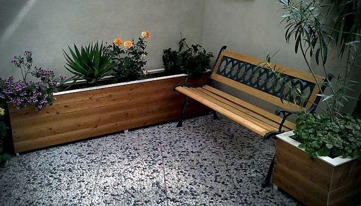 Arredamento per esterno mobili giardino arredare gli for Arredamento da giardino con bancali