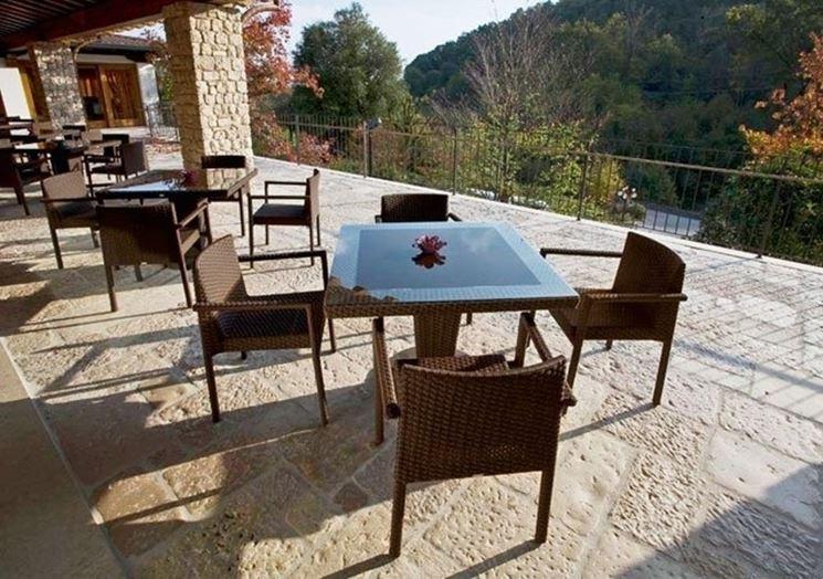 Arredamento per esterno mobili giardino arredare gli for Giardino mobili esterno