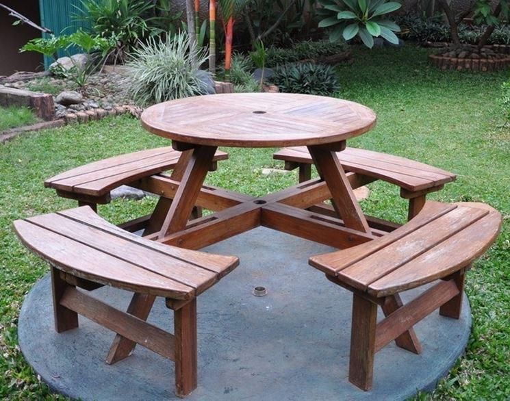Arredo giardino in legno teak