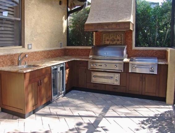 cucina esterno all aperto, giardino, cucina estate, Party Cucina da ...